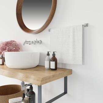 현대적인 욕실 가구