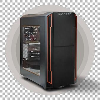 透明性に分離された現代の黒いコンピュータシステムユニット