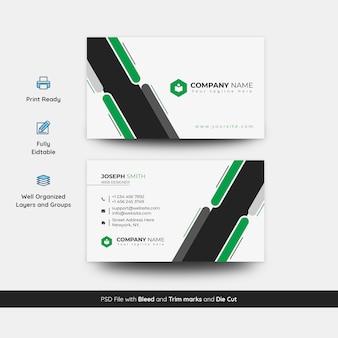 Modern busienss card template