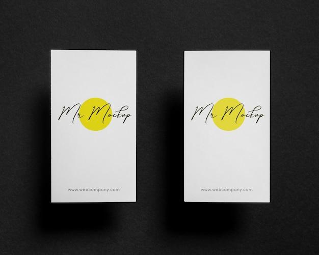 Современный макет визитки