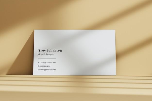 Макет современной визитки