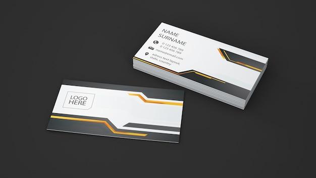 Modern business card showcase