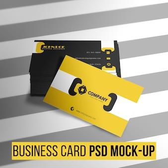 Modern business card template Free Psd