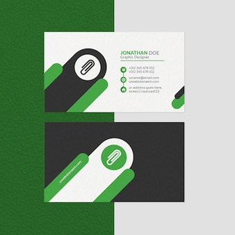 Modern business card template