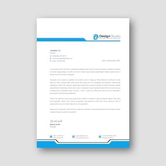 Шаблон фирменного бланка для бизнеса
