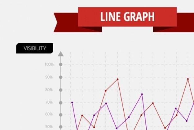 Modern data infographics psd