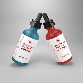 현대 dropper 병 이랑 디자인 절연 psd premium psd