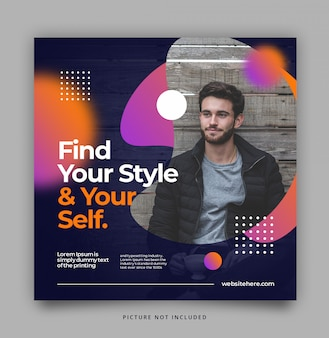Modern dynamic instagram template