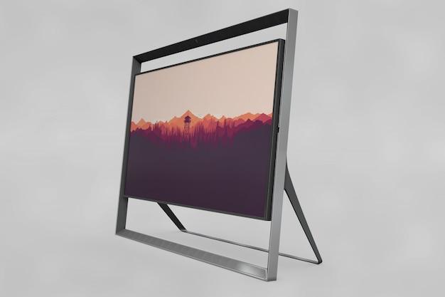 Modern frame mockup
