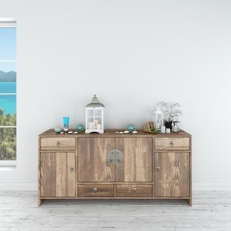 Современный дизайн интерьера мебели Бесплатные Psd