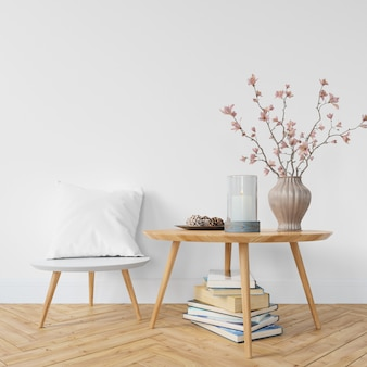 Interior design moderno del soggiorno