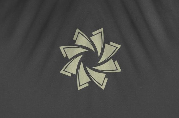 현대 로고 모형 디자인