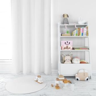 Modern nursery  kid's room