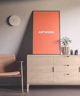 현대 포스터 목업 # 14 by anthony boyd graphics