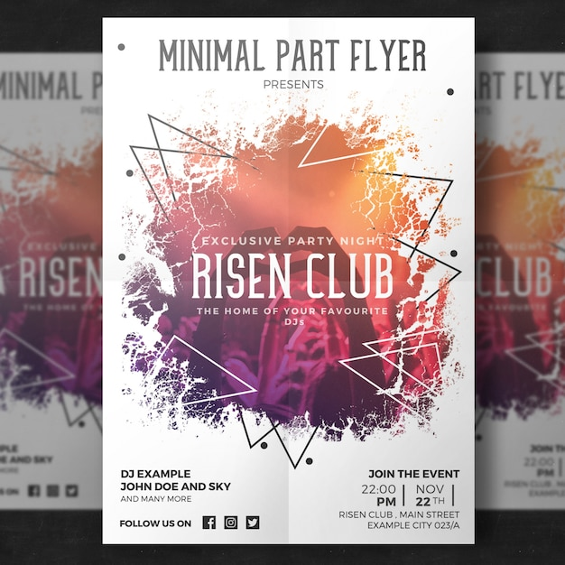 create free party flyers online eco enviame template page 62 of 115