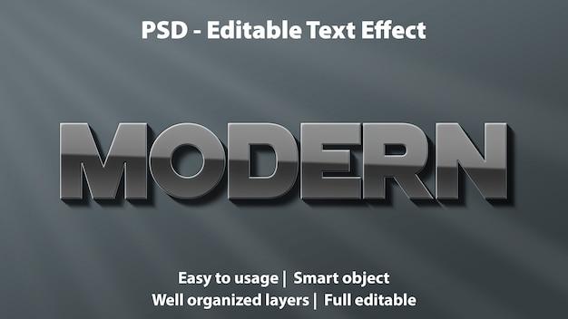현대적인 텍스트 효과
