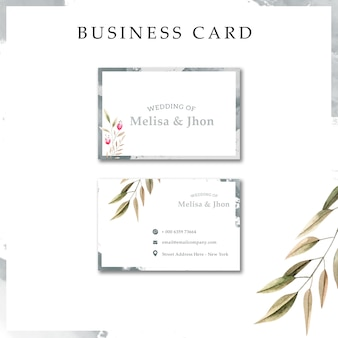 Modern wedding invitation cards