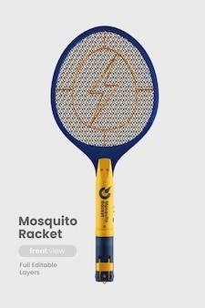 蚊のラケットのモックアップ