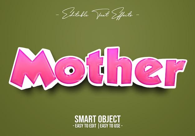 Эффект материнского текста
