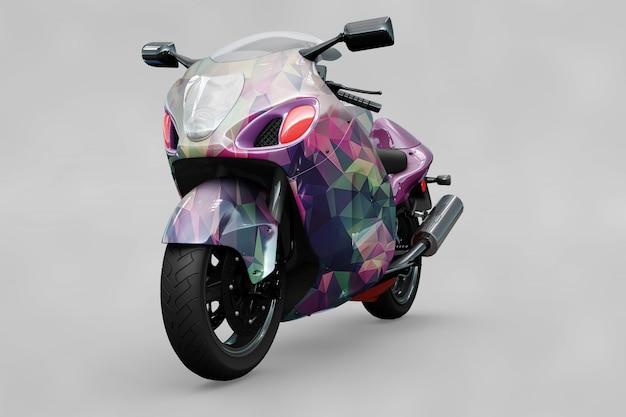 Motorbike mockup