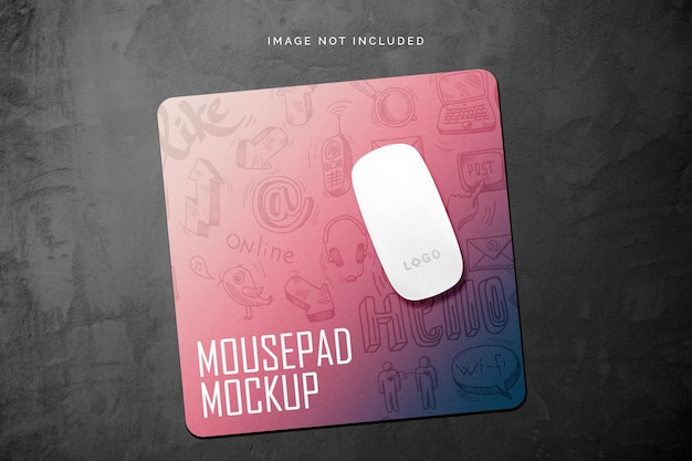 マウスパッドのモックアップ