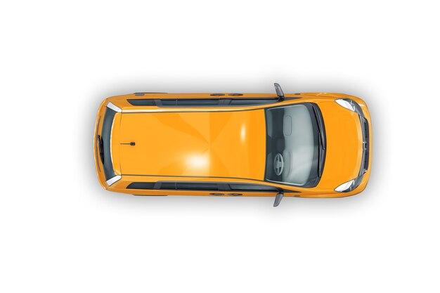 Mpv multi purpose vehicle mockup