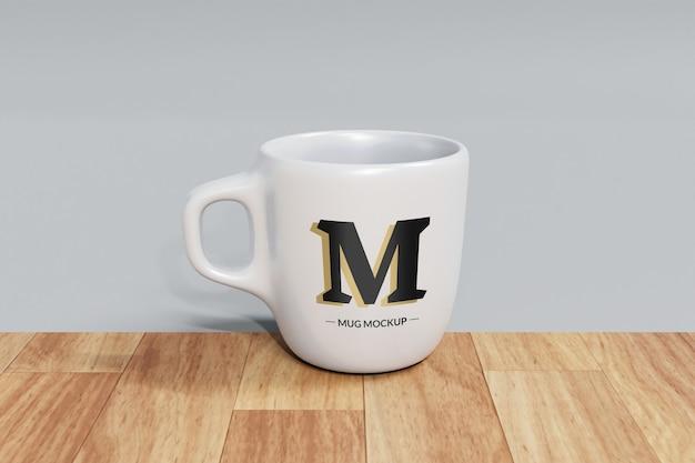 分離されたマグカップのモックアップ