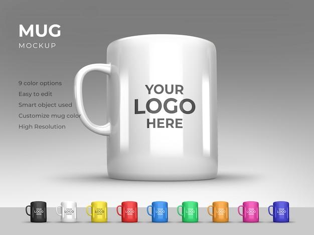 Mug mockup template design