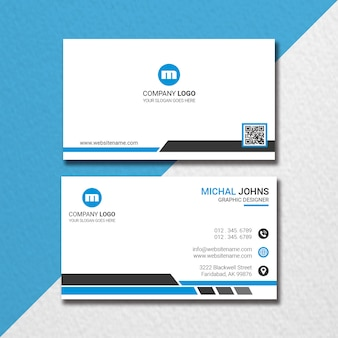 Multi shaped business card