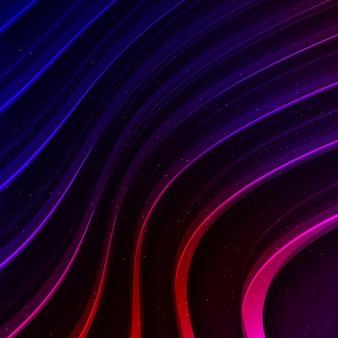 Многоцветный волнистый фон