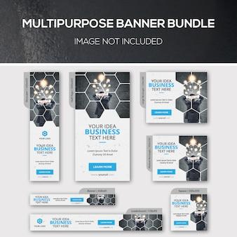 Multipurpose banner bundle