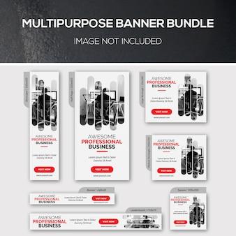 Multipurpose banner bundles