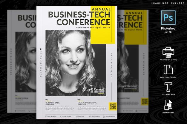 Multipurpose corporate flyer template