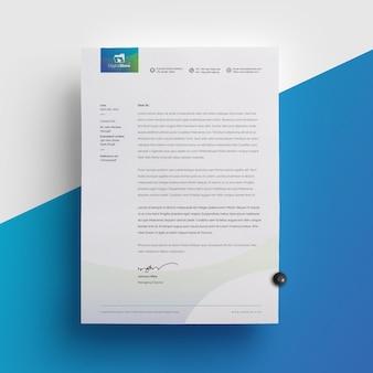 Multipurpose corporate letterhead