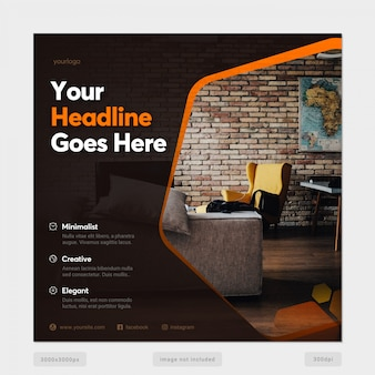 Multipurpose social media banner template