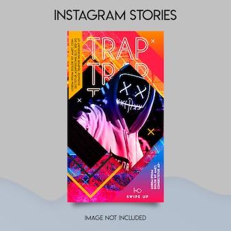 音楽祭instagramストーリーテンプレート