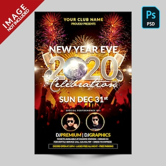 Music party new year celebration