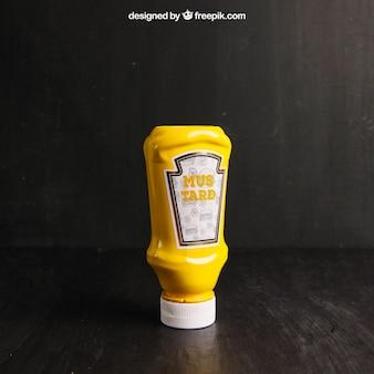 Mustard mockup