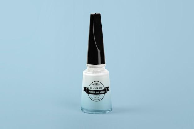 Макет бутылки лака для ногтей