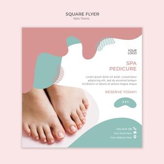 Студия дизайна флаеров для ногтей