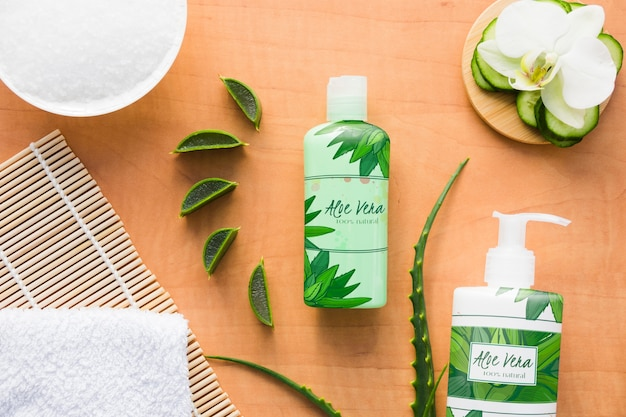 Natural product tools with aloe vera