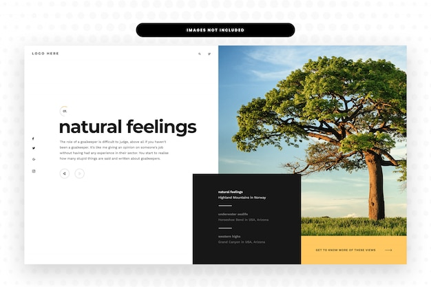 Nature website
