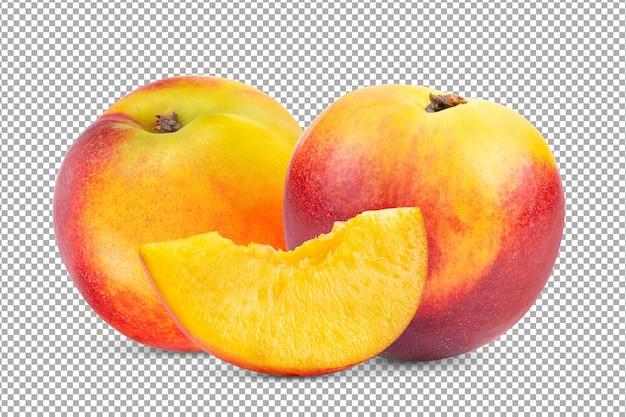 分離されたネクタリン果実