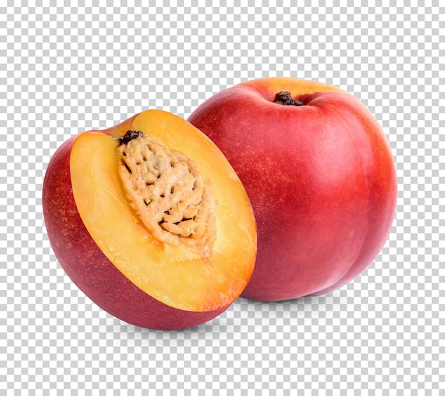 Nectarine isolated premium psd