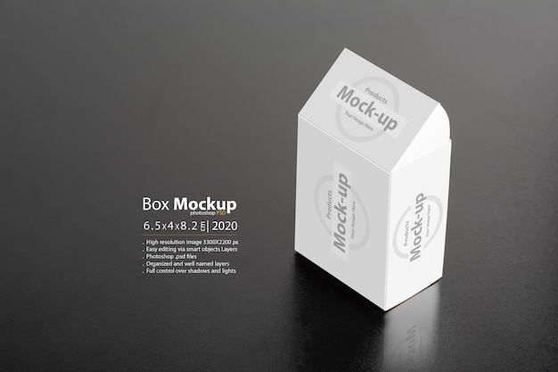 Needle tips package on dark background