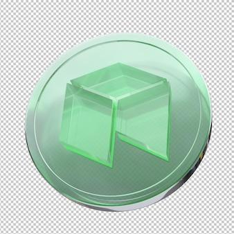 네오 동전 3d 그림