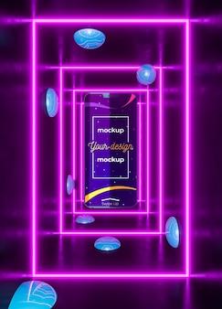 Концептуальный макет устройства neon