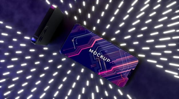 네온 장치 개념 모형
