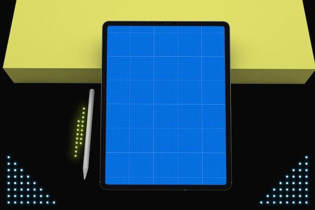 네온 태블릿 프로 v.2 모형
