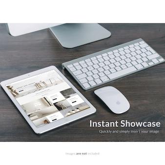 Таблетка netx на компьютерную клавиатуру макет